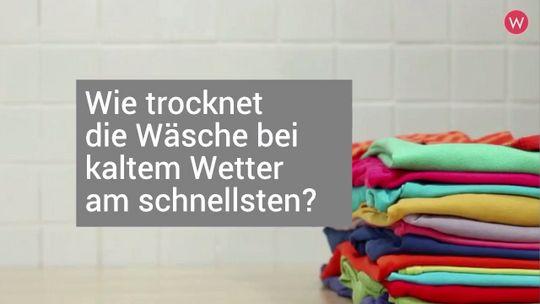 So Trocknet Deine Wasche Bei Kaltem Wetter Am Schnellsten