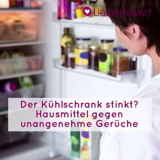 Der Kühlschrank stinkt? 4 Hausmittel gegen unangenehme ...