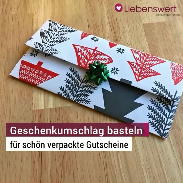 Gutschein Verpacken Die 5 Besten Ideen Für Ein Schönes Geschenk