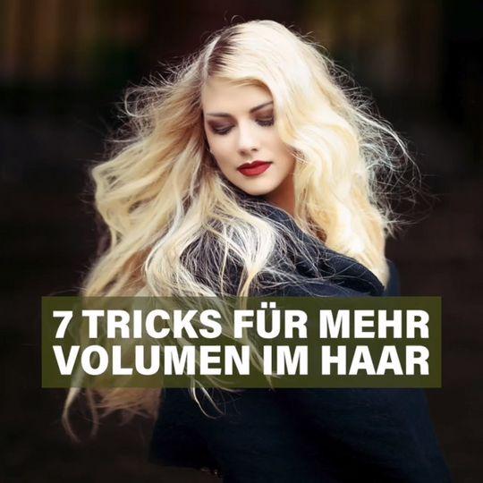 22 Volumen Tricks Für Feines Haar