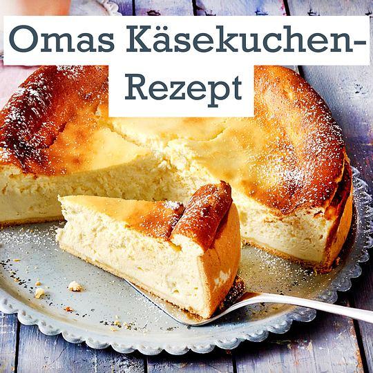 Omas Kasekuchen Das Klassische Rezept Lecker