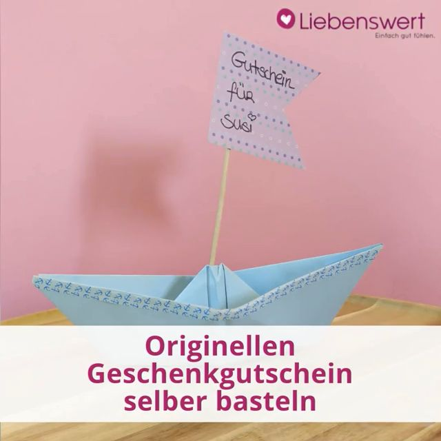 Gutschein Selber Machen 10 Ideen Für Originelle Geschenke
