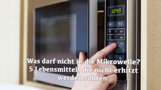 Das Sind Die 8 Größten Fehler Bei Der Benutzung Einer Mikrowelle