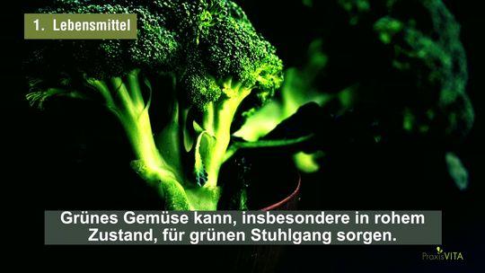 Grüner Stuhlgang Ursachen Behandlung