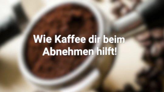 Kaffee, der beim Abnehmen hilft
