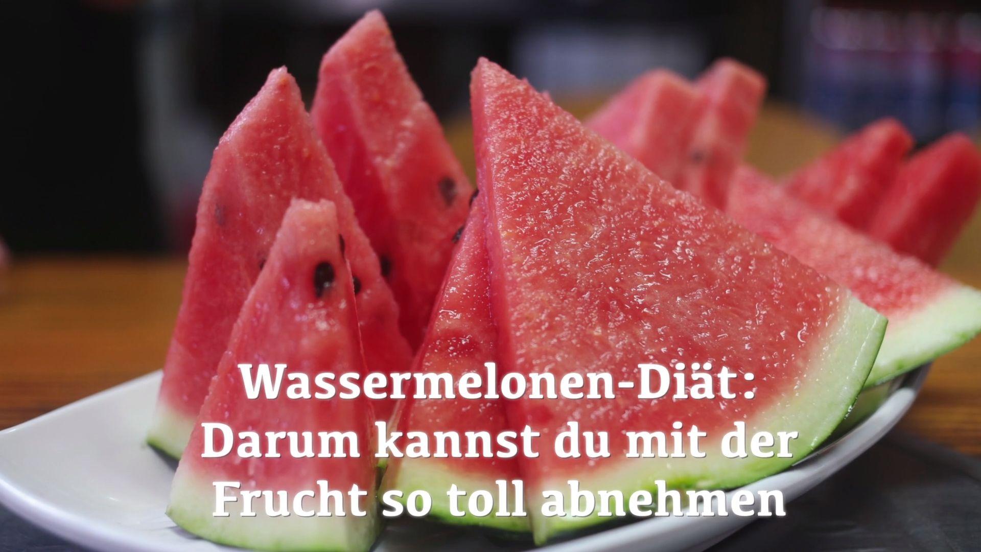 Wassermelonen Diat Ganz Einfach Und Genussvoll Gewicht Verlieren