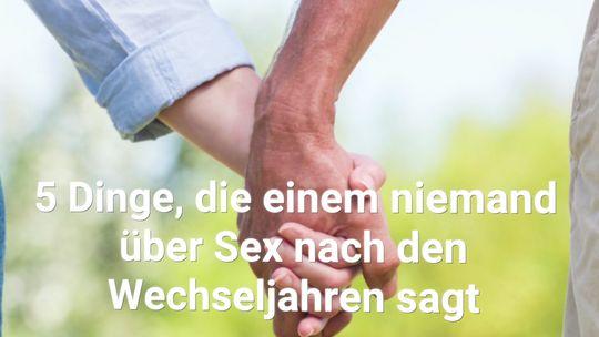 wechseljahre und sexualität