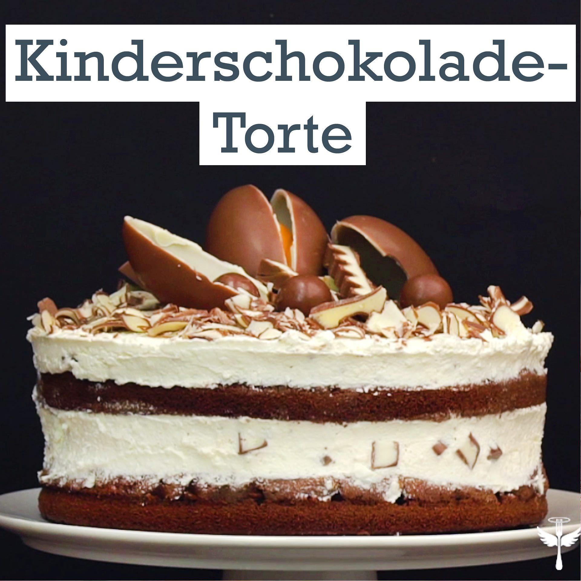 Kinderschokolade Torte Backen So Geht S Lecker