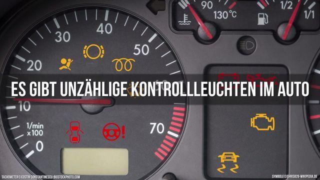 Cockpit Kontrollleuchten Video Autozeitung De