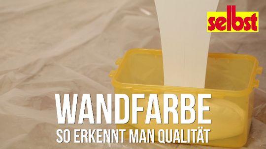 Qualität von Wandfarben | selbst.de