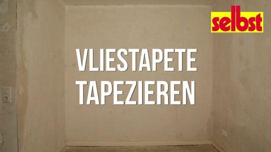 Vliestapete kleben | selbst.de