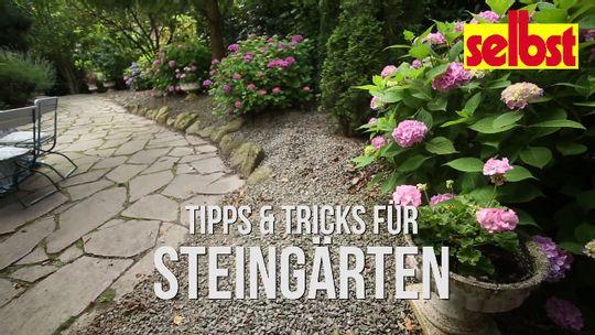 Steingarten Selbst De