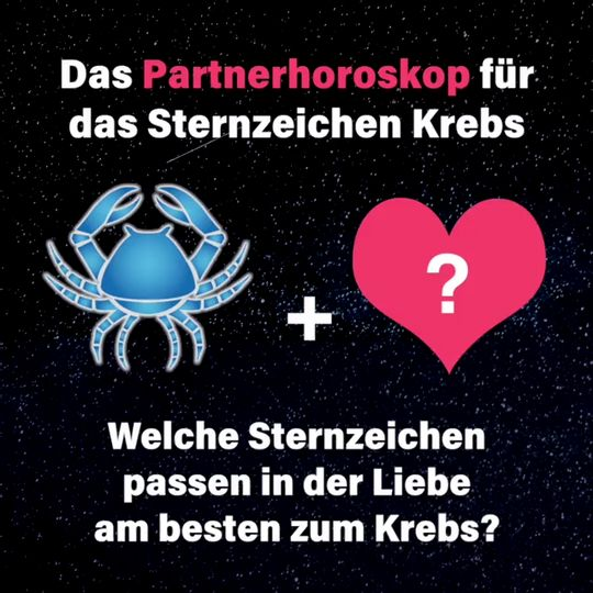 horoskop krebs frau skorpion mann