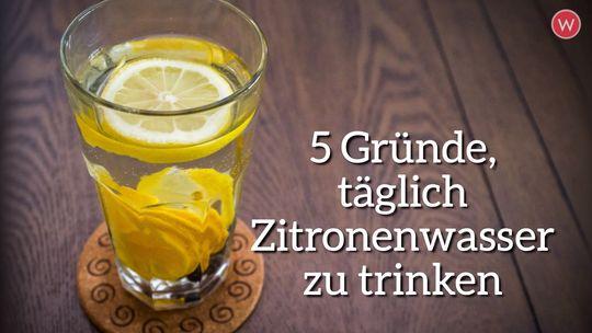 Die Zitronendiät zum Abnehmen